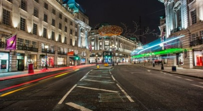 RegentStreet at night