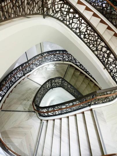 barneys sf stairs
