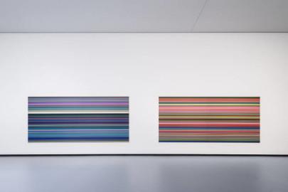 Gerhardt Richter Strip (921-5) and Strip (921-2)
