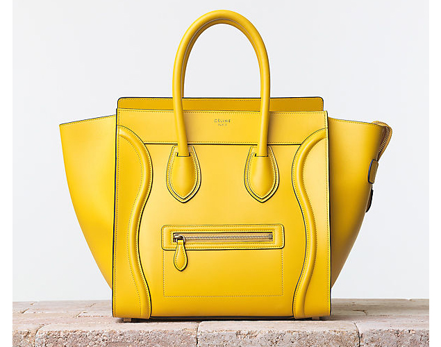 At Top Neiman Marcus Has Used Its Own Private Label To Manufacture A Knockoff Of Celine S Famous Luggage Tote Seen Here On The Retailer Website