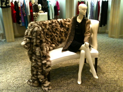 Fur-blanket